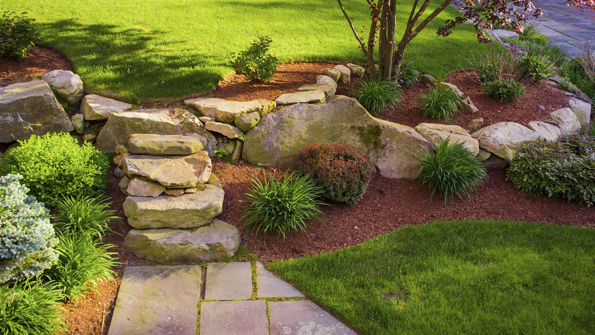 Liberty Landscapes, Pavers and Maintenance, LLC Paver Patios, Water Features and Grottos slide 3